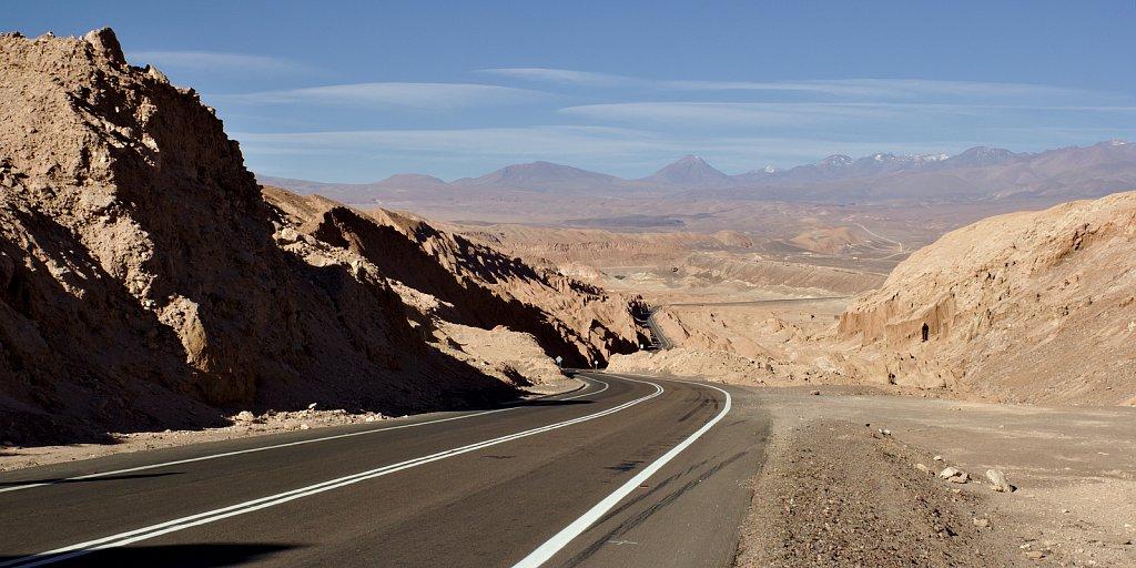 Arid Roads.